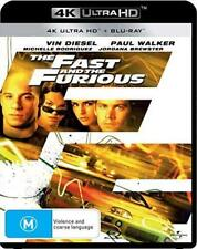 F&F1: THE FAST AND THE FURIOUS (2001): NEW 2018 Aus RgB 4K UltraHD UHD + BLU-RAY