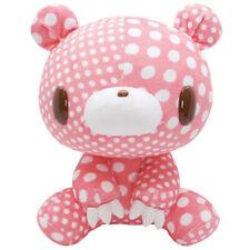"GLOOMY BEAR Plush Doll TEXTILLIC 8 Crazy Dots Polka Pink Clean 28cm11"""