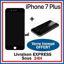 ECRAN LCD RETINA VITRE TACTILE AVEC CHASSIS POUR IPHONE 7 PLUS NOIR
