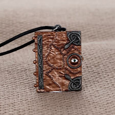 Hocus Pocus Spell Book Pendant Necklace Witches Sanderson Sister Valentines Gift