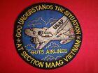 Vietnam War Patch USAF GOD UNDERSTANDS THE SITUATION AT Section MAAG VIETNAM