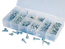 ATD 200pc Self Tapping, Hex Washer Head Self Drilling Screw Assortment #349