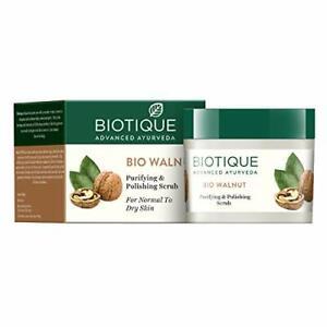 Biotique Bio Walnut Purifying & Polishing Scrub For Normal To Dry Skin 50G KU