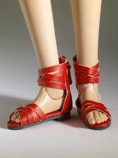 TONNER DOLL  NU MOOD COLLECTION  RED SANDALS ANKLE STRAPS #4  NRFB W/SHIPPER