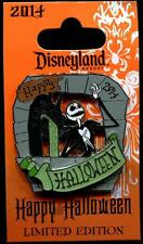 Nightmare Happy Halloween 2014 Jack Skellington at Fountain LE Disney Pin 107309