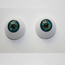 Doll Accessories 22mm Half Round Acrylic Eyes for Reborn Baby BJD OOAK Doll