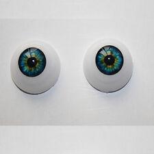 Doll Accessories 22mm Half Round Acrylic Eyes for Reborn Baby BJD OOAK Doll