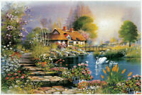 1000 Piece Jigsaw Puzzles Nice Farmhouse Educational Adults Kids Puzzle Toy Fun