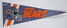 Chicago Bears Vintage Football NFL Pennant 12 x 29 Large Flag
