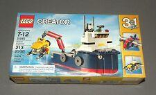 LEGO Ocean Explorer Creator 3 in 1 Set 31045 Cargo Plane, Submarine