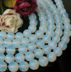 Natural 4mm Sri Lanka white Moonstone Round Gemstone Beads 15 inch AAA