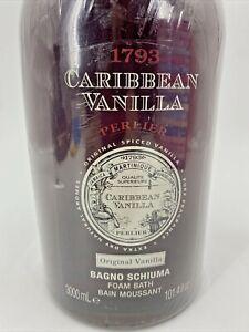 Perlier Caribbean Vanilla 3-Liter Bath Cream NEW & SEALED