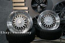Neue 4x 18 zoll 5x120 BBS style felgen für BMW old school wheels JDM
