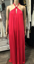 NWT Rachel Pally Coral Wildberry Tyler Halter Knot Tie Pants Jumpsuit Large