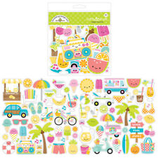 Doodlebug Design Sweet Summer Odds and Ends Die Cut Cardstock Pieces 5907