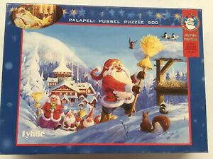 🎅🏼 🎄 Jigsaw Puzzle - Christmas Deluxe 500 Pieces Educational