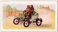American 1899 Locamobile Steam Engine Car Motor Auto Vintage Trade Ad Card