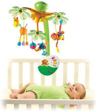 Tiny Love 00460003 Sweet Island Dreams Baby Mobile, With Calming Night Light New