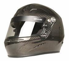 Conquiste rostro completo de fibra de carbono Auto Racing Casco Snell SA2015