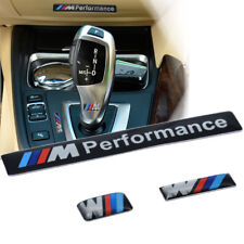 1set 3D Aluminum ///M performance Car Emblem Badge Sticker Decal for BMW NEW