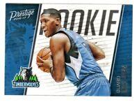 2016-17 Panini Prestige ROOKIE ACETATE #7 KRIS DUNN RC Rookie Chicago Bulls