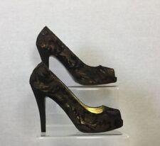 NEXT Satin Peep Toe Slim Heels for Women
