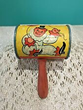 T. Cohn Incorporated Metal Noise Maker With Clowns Vintage