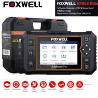 Foxwell NT624 Elite OBD2 Scanner Full System Diagnostics Tool EPB Oil Service US