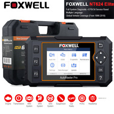 Foxwell NT624Elite Car OBD2 Scanner All System SRS ABS Oil Reset Diagnostic Tool