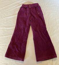 Oshkosh girls corduroy pants size 5 burgundy