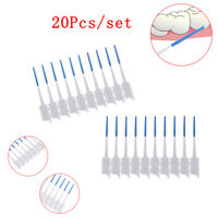 20pc Interdental Brush Soft Rubber Teeth Clean Floss Pick Dental Oral Care To JC