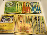 Pokemon TCG Sword & Shield base Uncommon Pokemon Reverse Holo lot. 45 Cards.