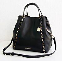 Michael Kors Tasche/Bag Sadie Medium Grab Tote Bag Black/Gold NEU!