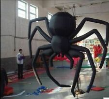 Giant Party Decoration Halloween Inflatable Hanging Spider for Sale 3m ax