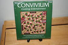 CONVIVIUM COOKING ENTERTAINMENT BOARD GAME (NIB) (2001)