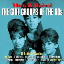 HE'S A REBEL - THE GIRL GROUPS OF THE 60's  (NEW SEALED 3CD SET)