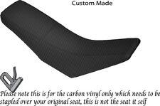 Personalizado De Fibra De Carbono Vinilo cabe Yamaha TTR 125 03-05 Dual Cubierta de asiento