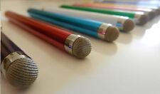 Wholesale Lot - Ten 10 x Fiber Tip Metal Stylus Pen Universal iPhone iPad Galaxy