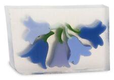 Primal Elements* - BLUE BELLS Full 7+ oz. not 6.0 oz. Handmade Glycerin Soap Bar