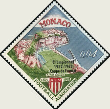 "MONACO STAMP TIMBRE N° 623 "" FOOTBALL , STADE LOUIS II  4 C "" NEUF xx LUXE"
