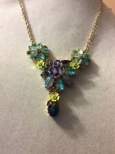 $58 Betsey  Johnson Spring Ahead Floral Necklace AB7