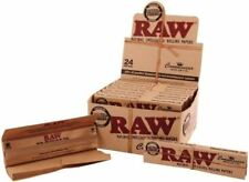 3 Packs x RAW Rolling Papers King Size Classic with Tips Natural Unrefined
