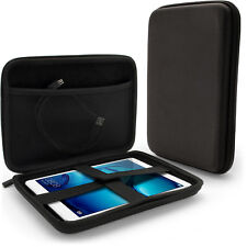 "Black EVA Zipper Travel Tablet Case Cover for Huawei MediaPad M2 8"" & M3 8.2"""