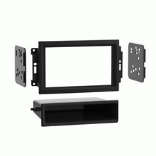 Metra 99-6510 Car Stereo Single & Double Din Radio Install Dash Kit for Chrysler