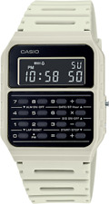 Casio CA53WF-8B, 8-Digit Calculator Watch, Resin Band, Day/Date, Alarm, Chrono
