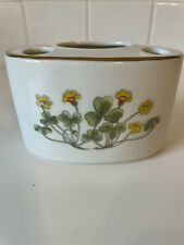 New listing Takahashi Floral Toothbrush Holder Yellow Floral 4 Spaces San Francisco