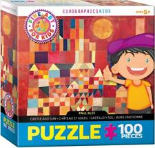 EuroGraphics Castle and Sun by Paul Klee Puzzle Jigsaw Puzzle (100-Piece)