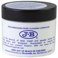 J-B Non-Embedding Bore Cleaning & Polishing Compound - Removes Lead Residue 2oz