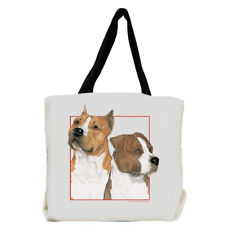 American Staffordshire Terrier Amstaff Dog Tote Bag