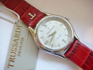New TRUSSARDI Watch T Light Ladies Steel Red R2451127502